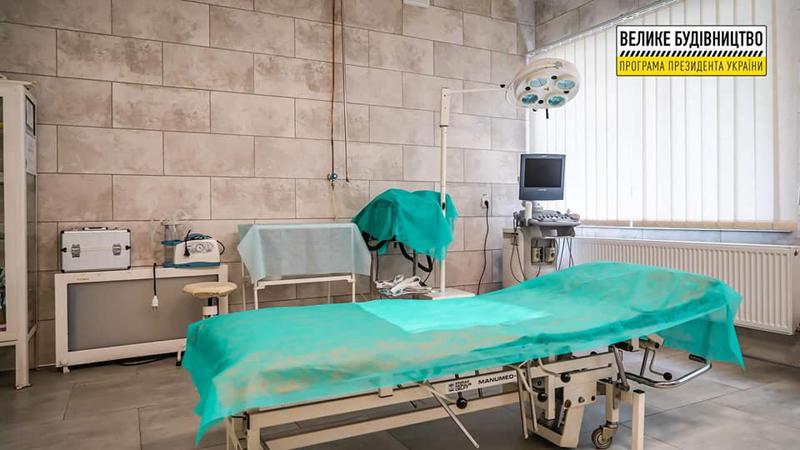 В оновленому приймальному відділенні Уманської міської лікарні прийняли півтори тисячі пацієнтів