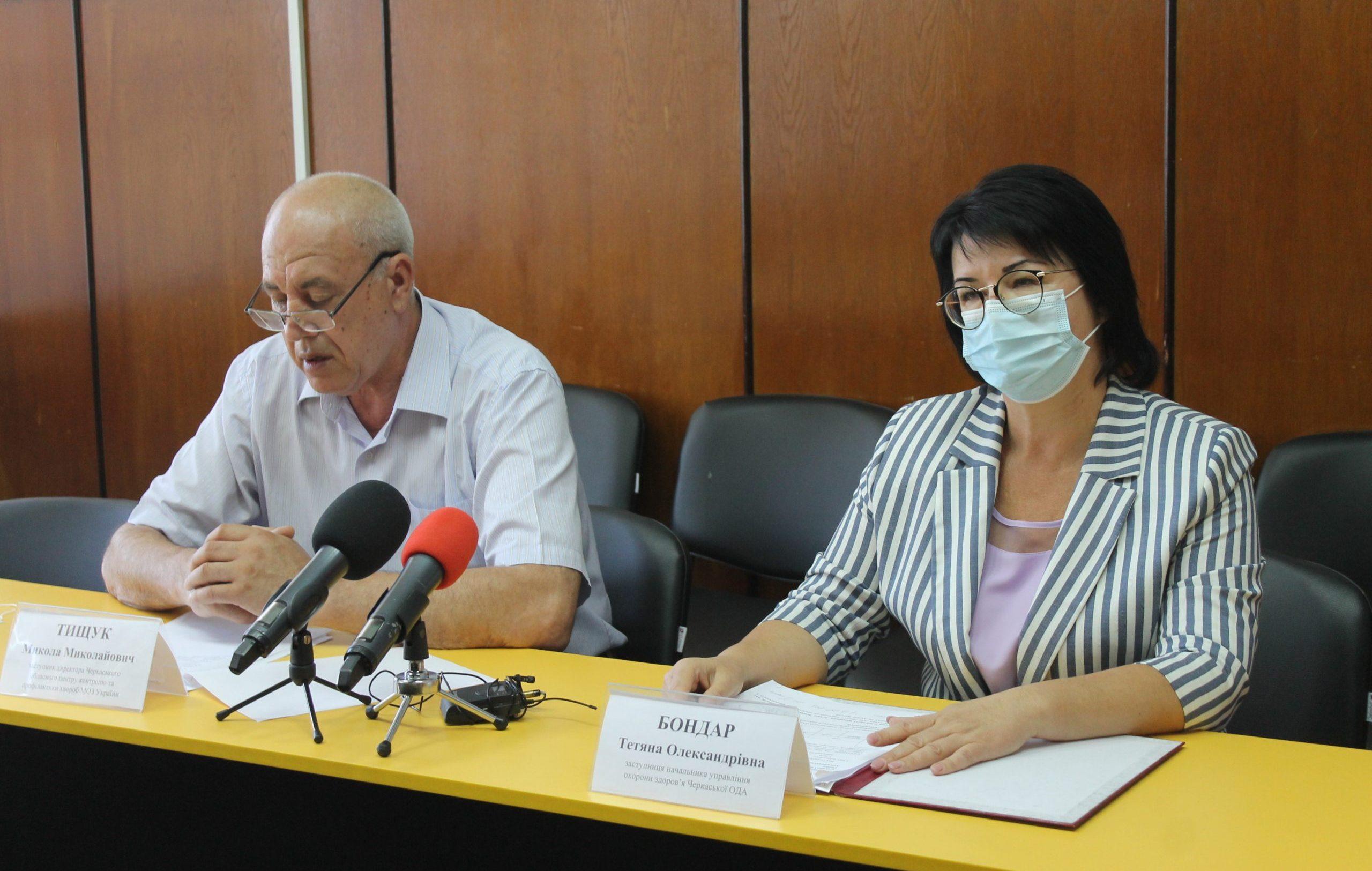 Показник захворюваності на COVID-19 в області зменшився на понад 17%