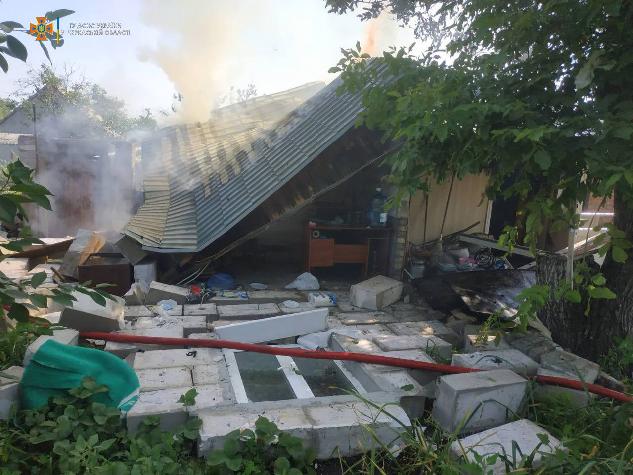 У житловому будинку на Черкащині стався вибух