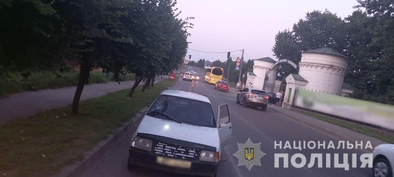 На Черкащині водій скоїв наїзд на 12-річну дівчину