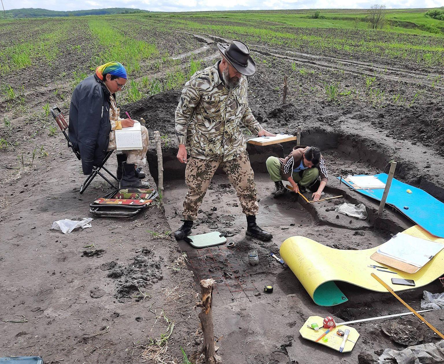 На Чигиринщині арехологи знайшли артефакти з Єгипту