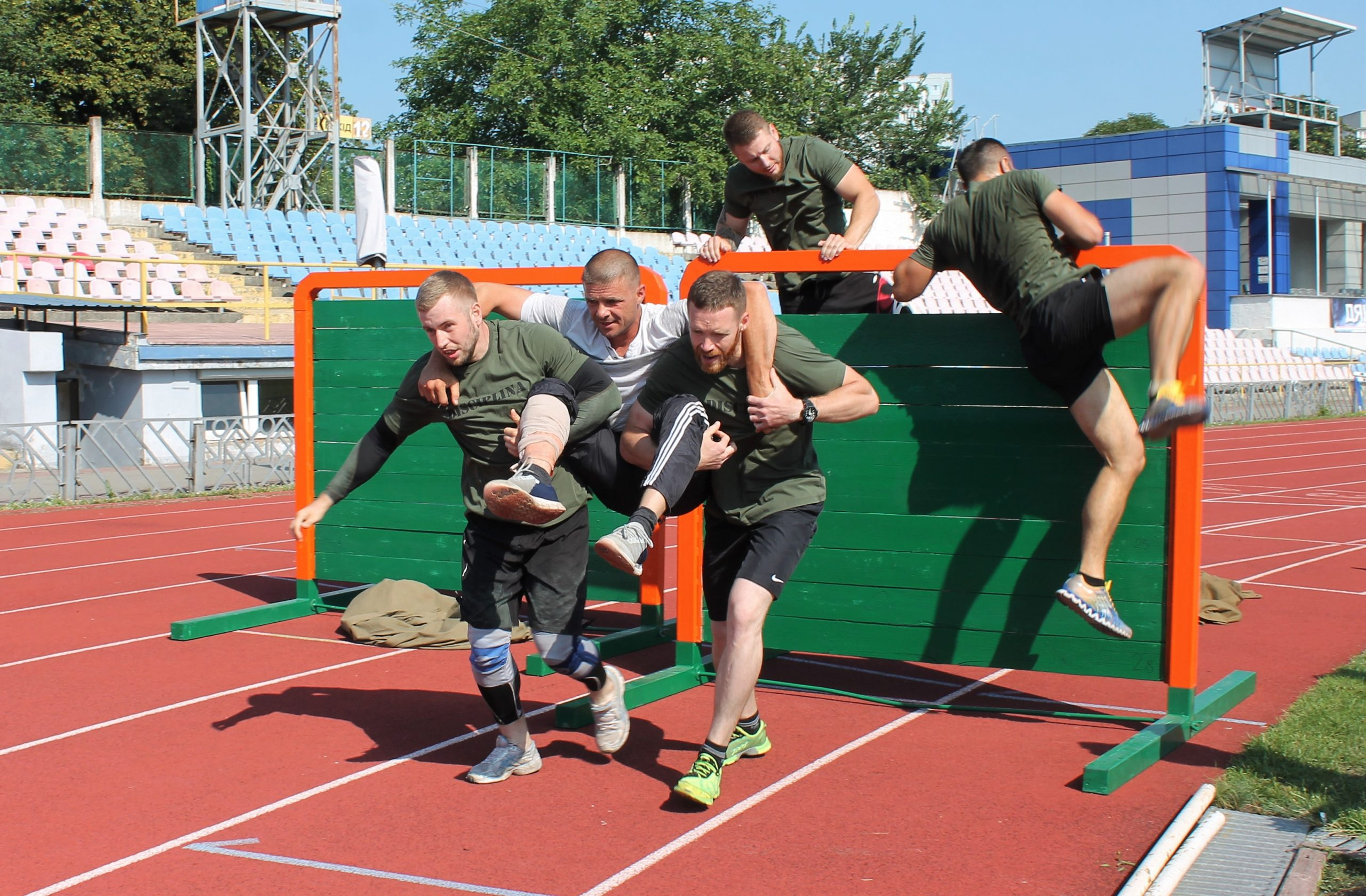 У Черкасах стартували чемпіонати з багатоборства серед тілоохоронців (ФОТО)