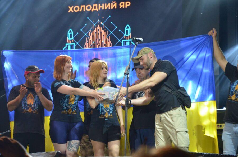 """Фестиваль """"Холодний Яр"""" зібрав понад 100 тисяч гривень для українських добровольців"""