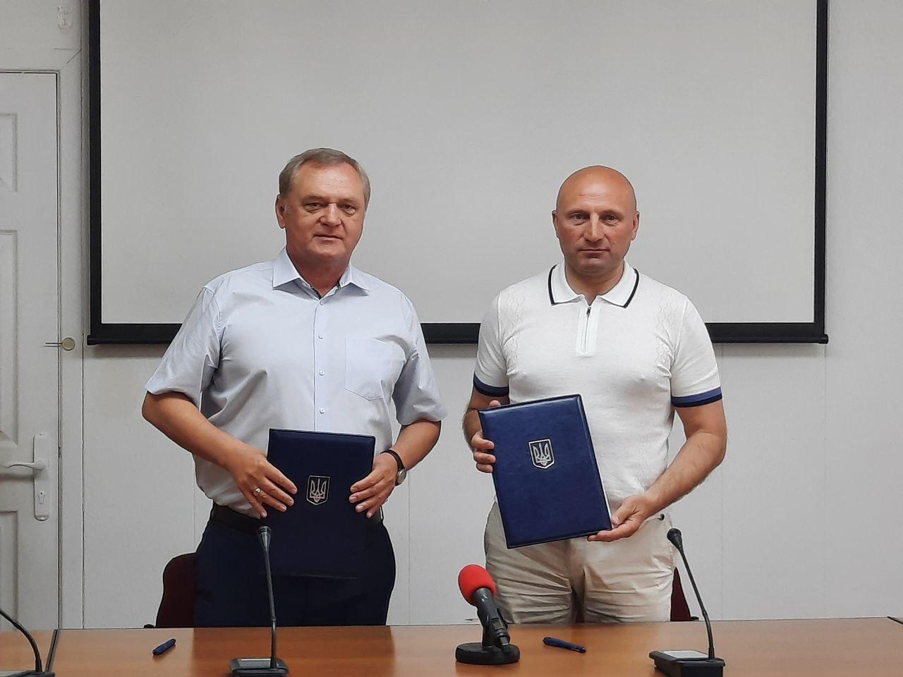 Міський голова та ректор ЧНУ підписали меморандум про співпрацю