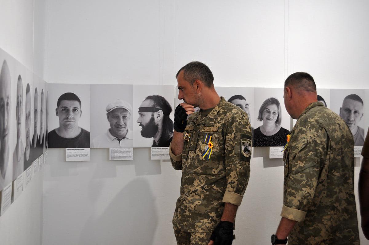 У Черкасах презентували фотопроєкт «Нескорені»