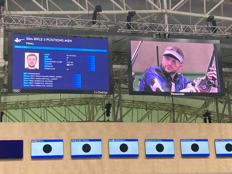 Сергій Куліш посів восьме місце на Олімпійських іграх у Токіо