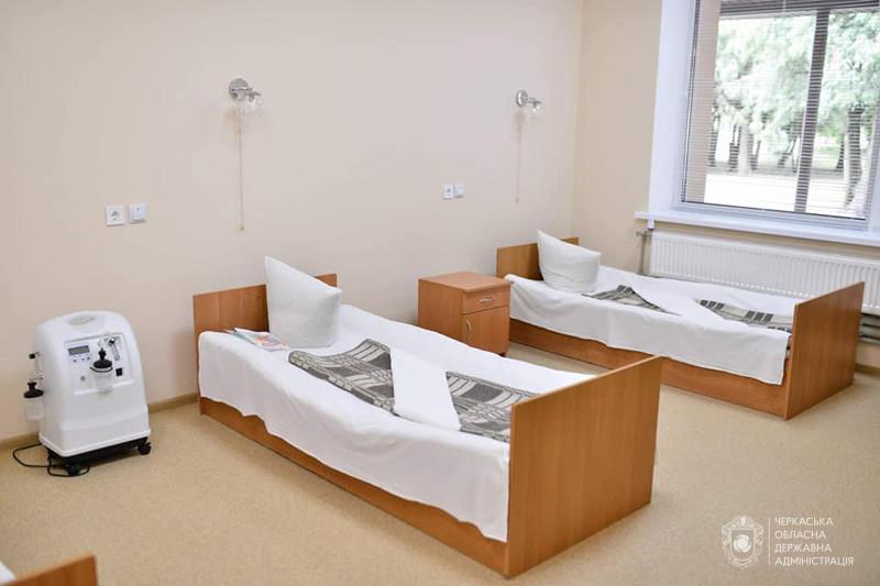 Корпус багатопрофільної лікарні відремонтували на Драбівщині