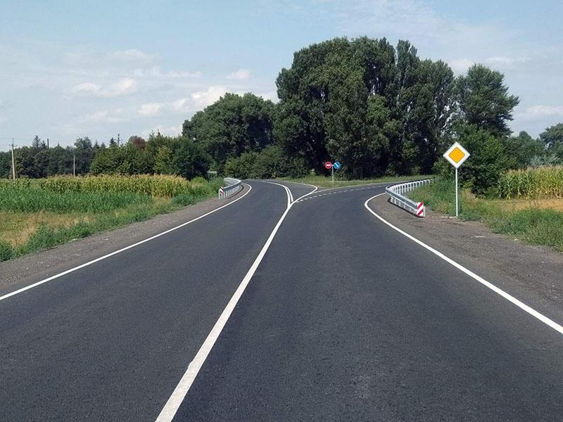 На Золотоніщині завершили ремонтувати ще один дорожній об'єкт
