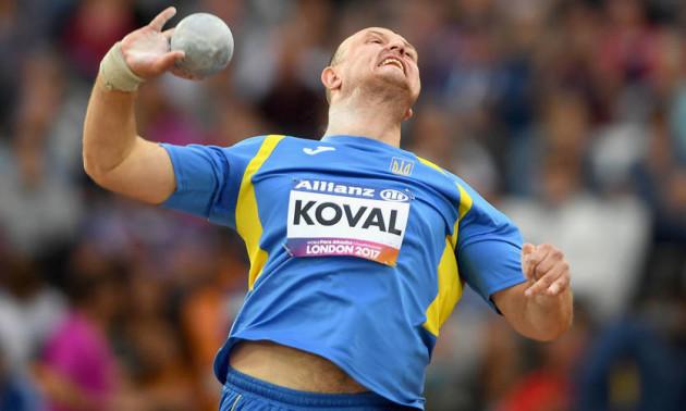Черкащанин Максим Коваль став паралімпійським чемпіоном