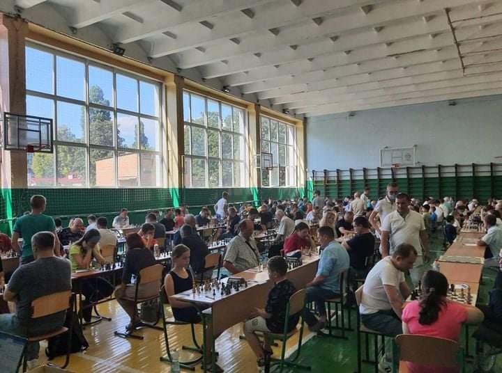 Уперше в Черкасах триває Чемпіонат України з шахів серед аматорів