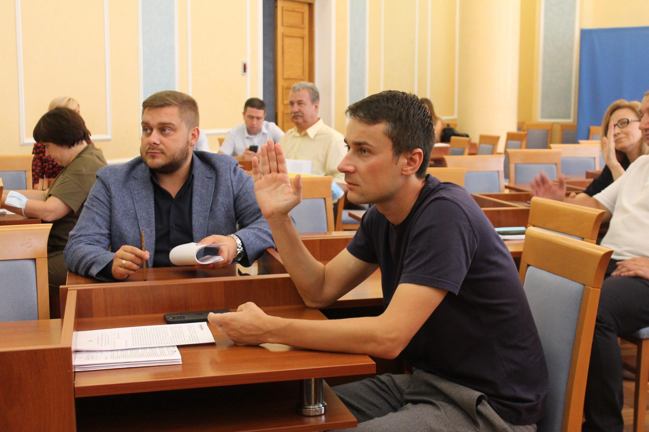 На засіданні бюджетної комісії обговорили розподіл коштів