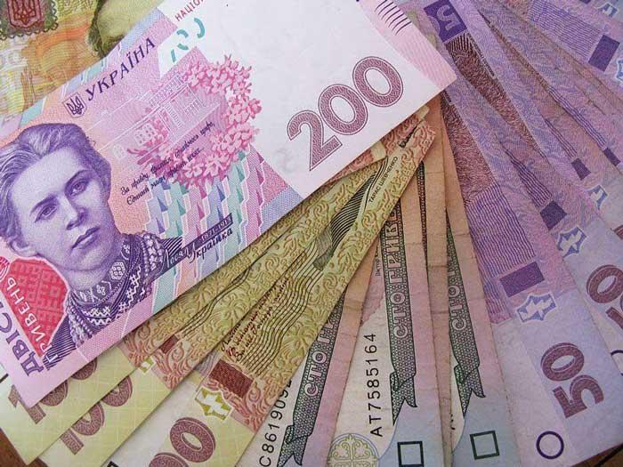У Черкаській області середня зарплатня − понад 12 тисяч гривень