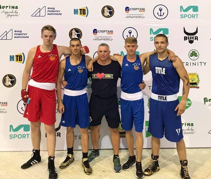 Черкаські спортсмени здобули медалі Кубку України з боксу