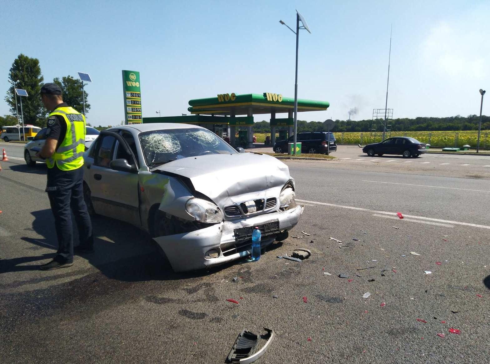 Семеро осіб постраждали в ДТП під Черкасами