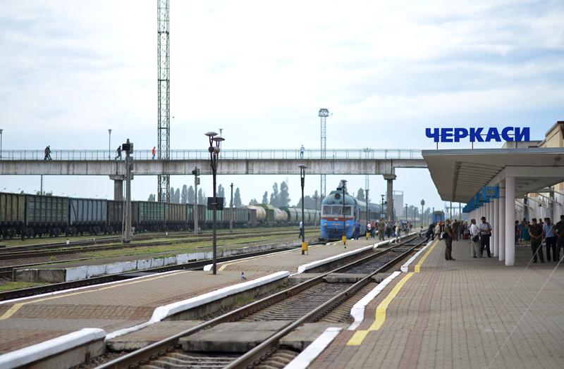 У Черкасах електрифікують залізницю (ФОТО)