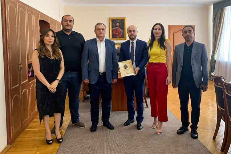 ЧНУ підписав Меморандум про співпрацю з Українським Центром в Азербайджані