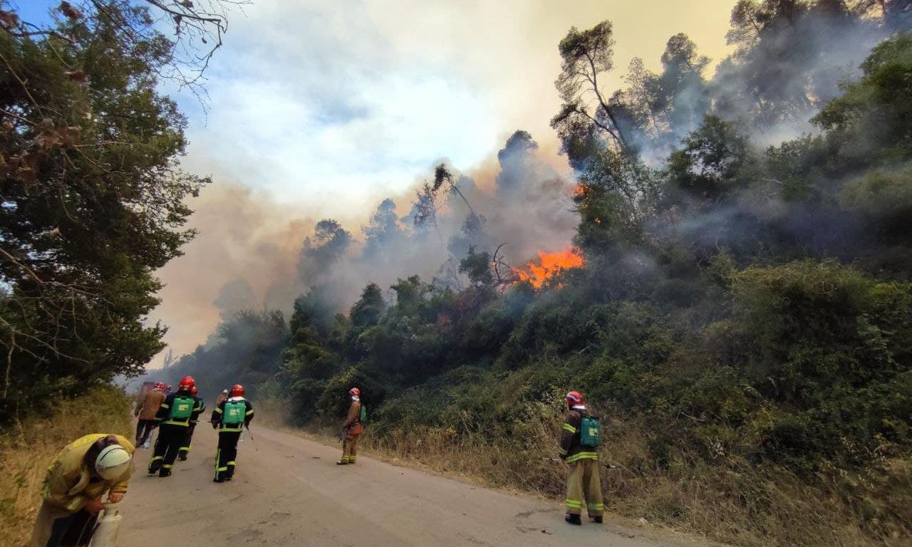 Черкаські вогнеборці ліквідовують пожежі в Греції