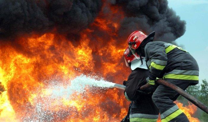 В області пожежу на пилорамі гасили шість підрозділів