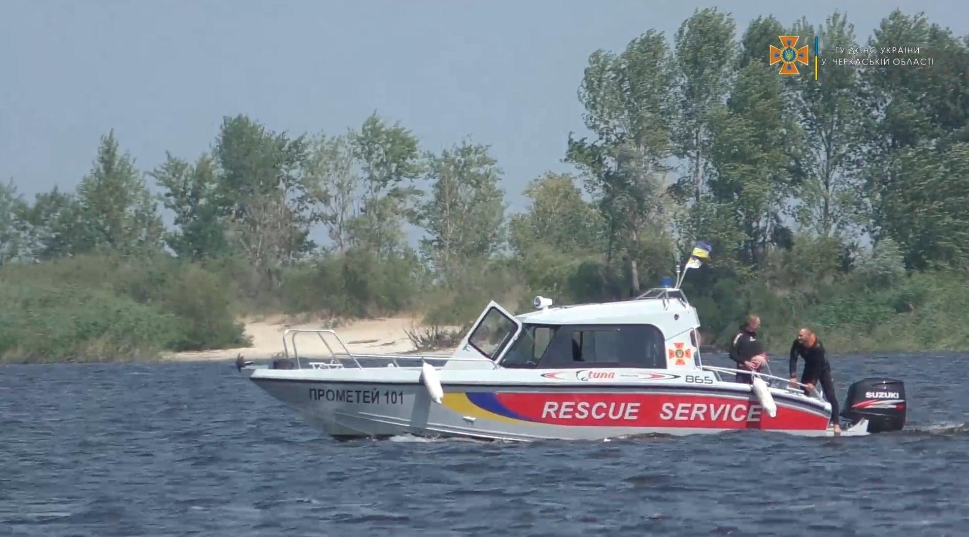 Тіло зниклого чоловіка знайшли на Дніпрі в Черкасах