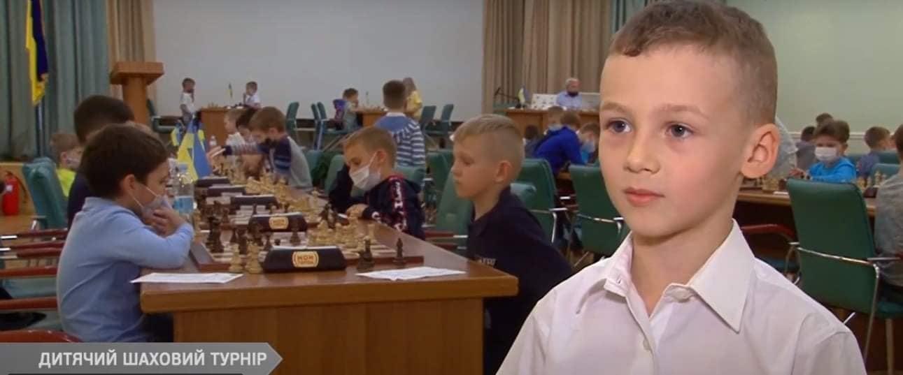 Шестирічний шахіст із Черкас здобув ІІІ розряд на чемпіонаті