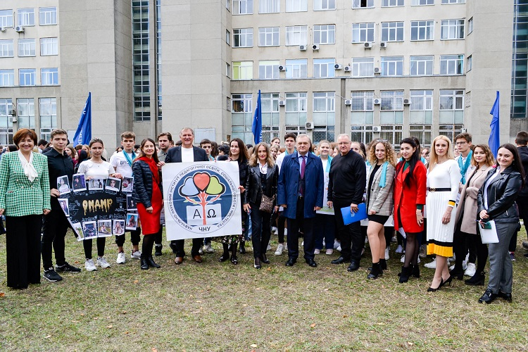 У Черкаському національному першокурсників посвятили в студенти