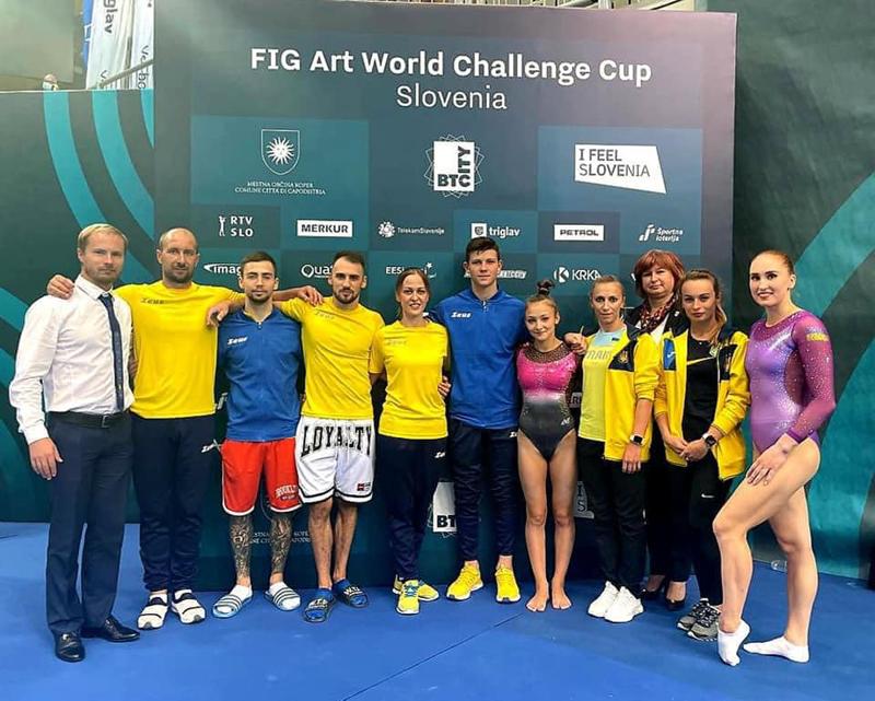 Гімнаст із Черкас виборов медалі на міжнародних змаганнях