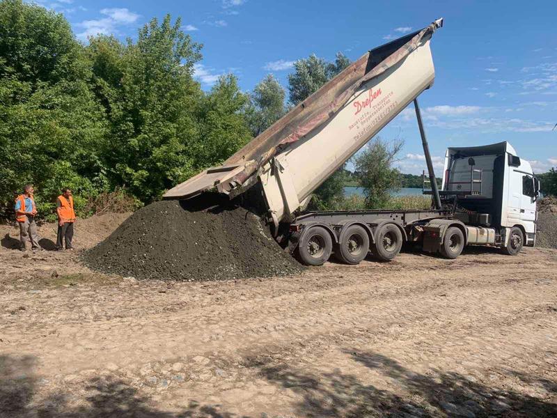 Капітальний ремонт дороги розпочали на Звенигородщині
