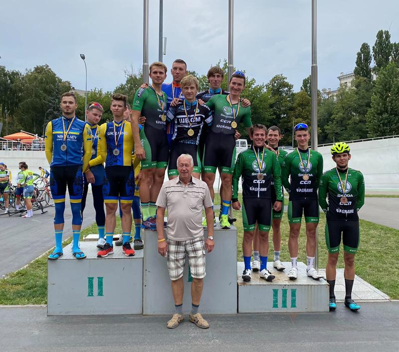 Спортсмен із Черкащини став чемпіоном України з велогонки