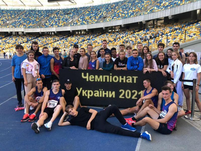 Черкащани – призери чемпіонату з естафетного бігу