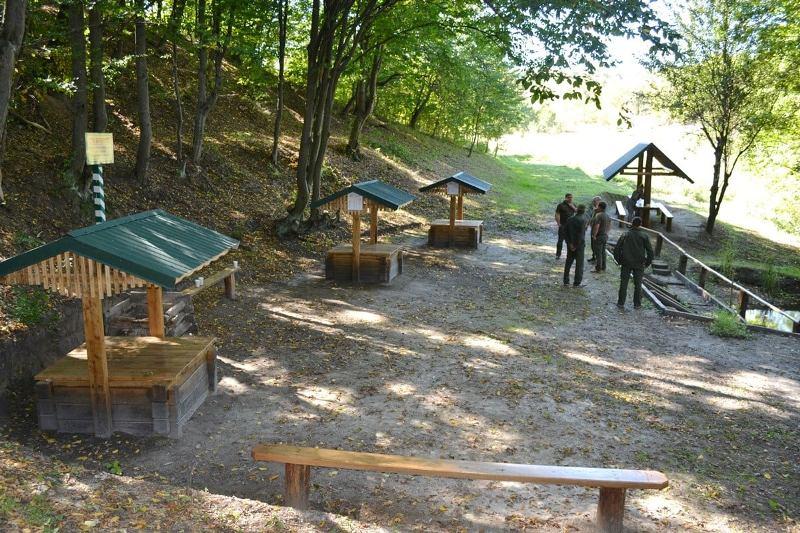 Смілянські лісівники відновили «Три криниці»