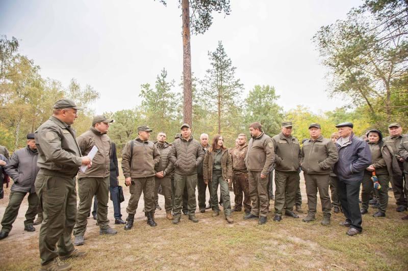 У Черкасах відбулася розширена колегія Державного агентства лісових ресурсів України