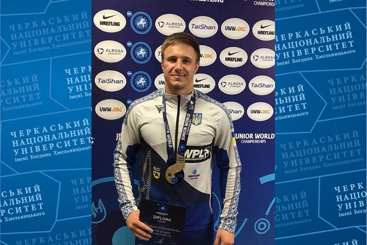 Студент ЧНУ здобув призове місце на міжнародному чемпіонаті зі спортивної боротьби