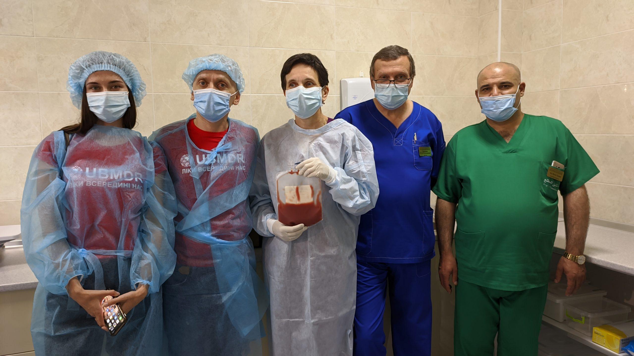 Уперше трансплантацію кісткового мозку від іноземного донора зробили в Черкасах (ВІДЕО)