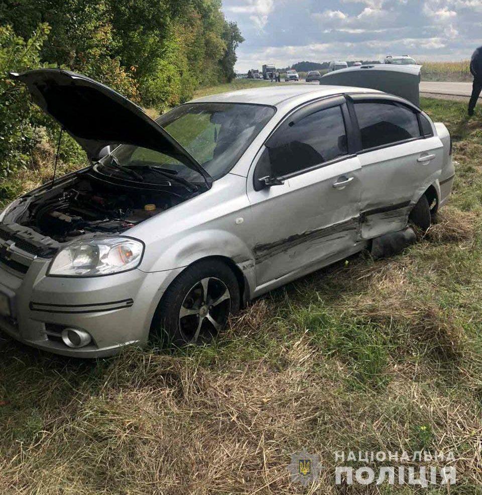 На Черкащині нетверезий водій скоїв ДТП