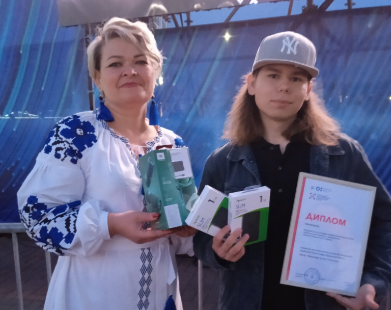 Учень Канівської школи – переможець Всеукраїнського конкурсу «Обличчя моєї України»