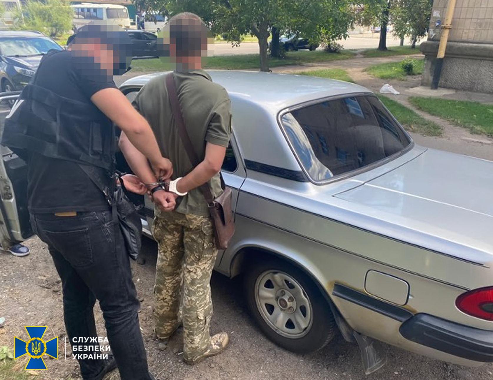 Військовика з Черкащини викрили на хабарі