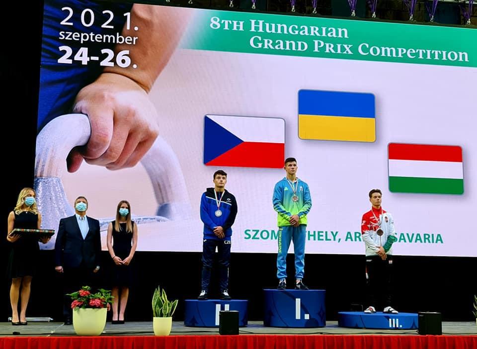 Ілля Ковтун виборов чотири нагороди на міжнародних змаганнях