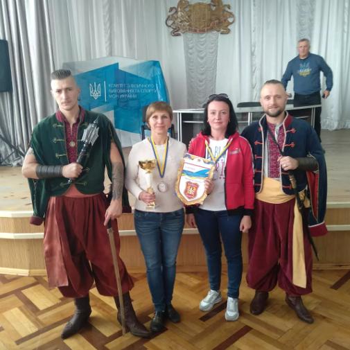 Збірна команда регіону – срібний призер Всеукраїнських спортивних ігор «Козацька наснага»