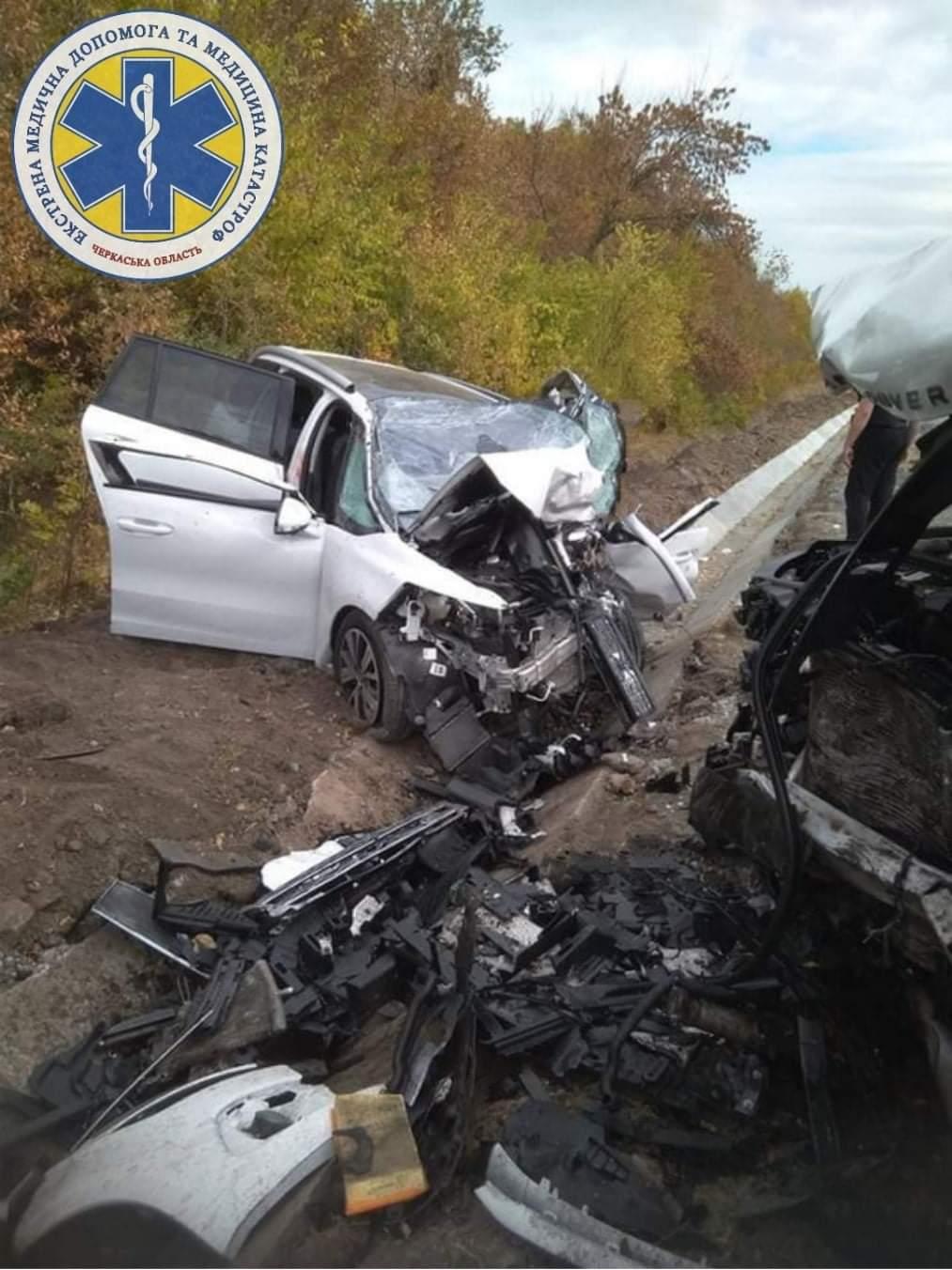 На Звенигородщині в ДТП загинули дві жінки