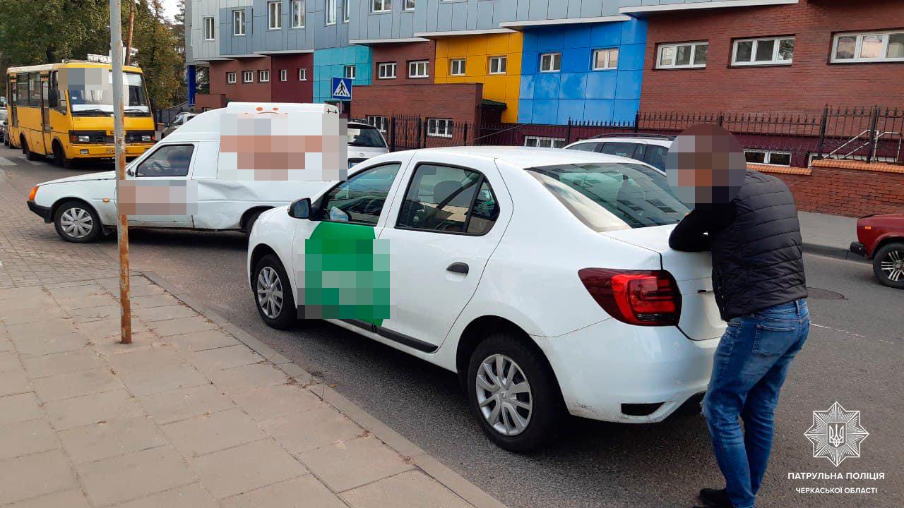У Черкасах сталася ДТП: один із водіїв перебував у нетверезому стані