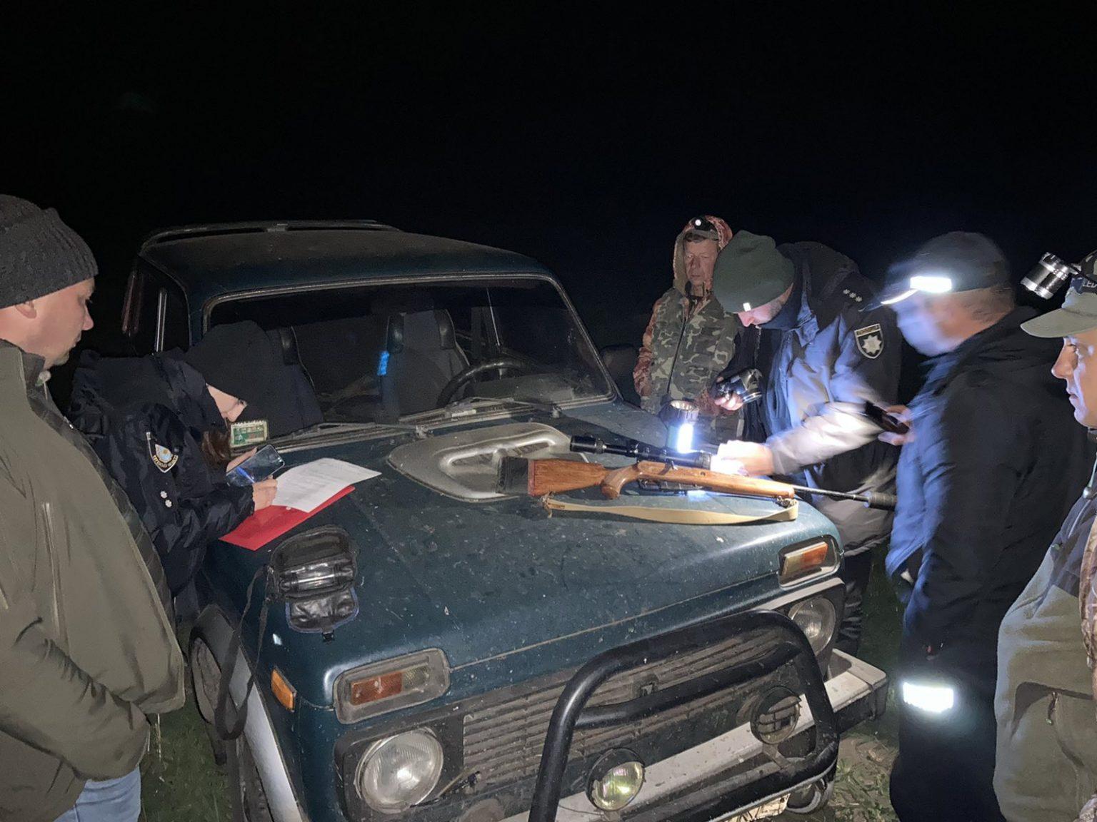 На Черкащині затримали браконьєра, який застрелив самку оленя