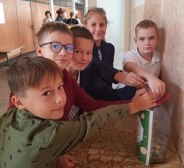Черкаські школярі зібрали для онкохворих дітей понад 40 тисяч гривень