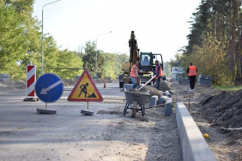 У Черкасах ремонтують кілька вулиць у межах Великого будівництва