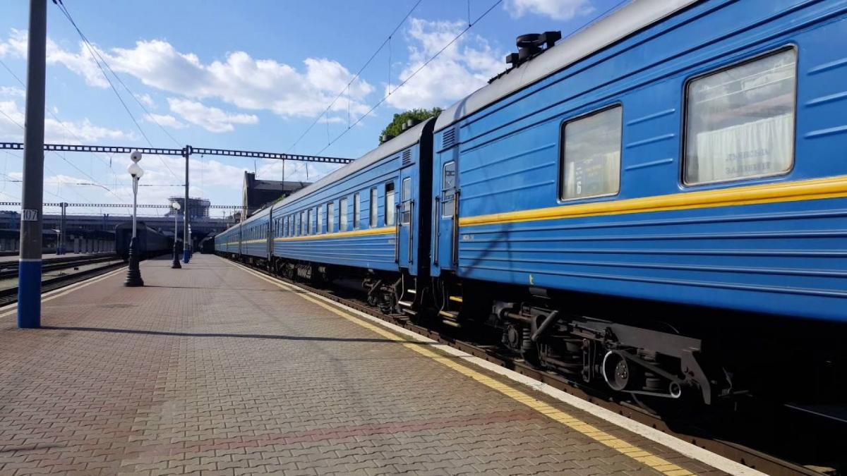 Наступного тижня на Черкащині не курсуватимуть вісім потягів