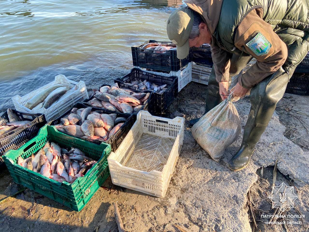 Черкащанин наловив риби на понад 200 тисяч гривень